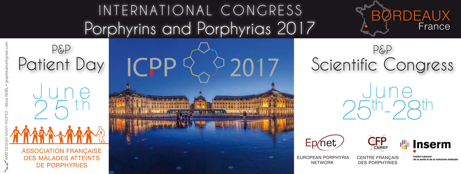 Congrès international des porphyries à Bordeaux en 2017
